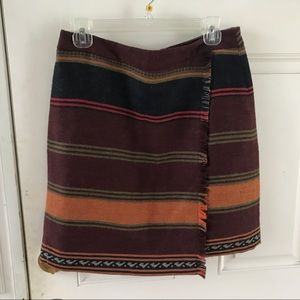 Loft blanket style skirt, worn twice